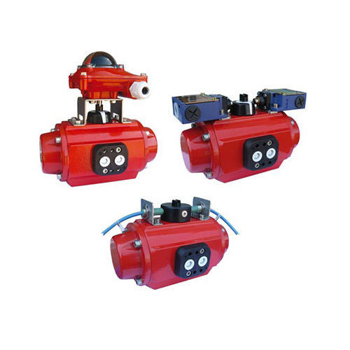 electromechanical valve actuator / rotary / NAMUR / with integrated limit switch