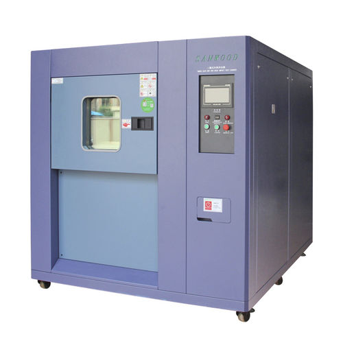 thermal shock test chamber / for composite materials / for rapid temperature cycling