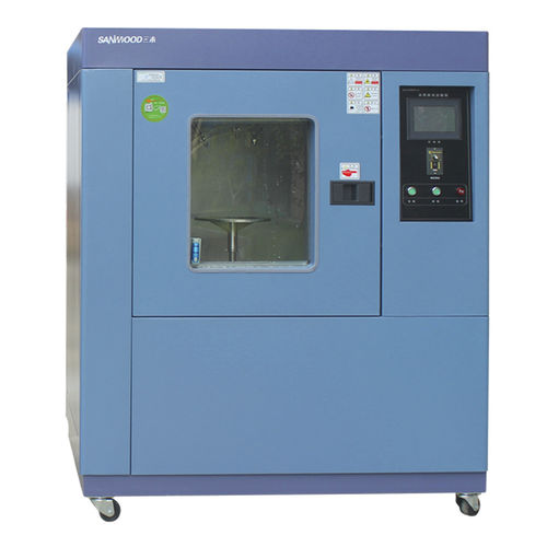 rain test chamber / water spray / for automobiles / for materials testing machines