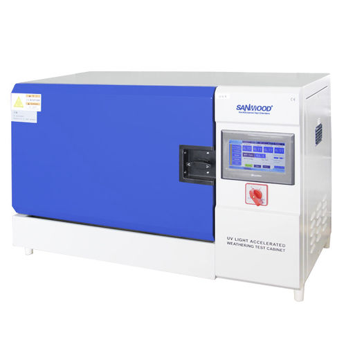 UV light aging test chamber / climatic / for wire / automatic