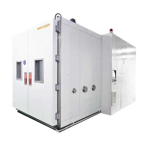 humidity and temperature test chamber / walk-in / low-temperature