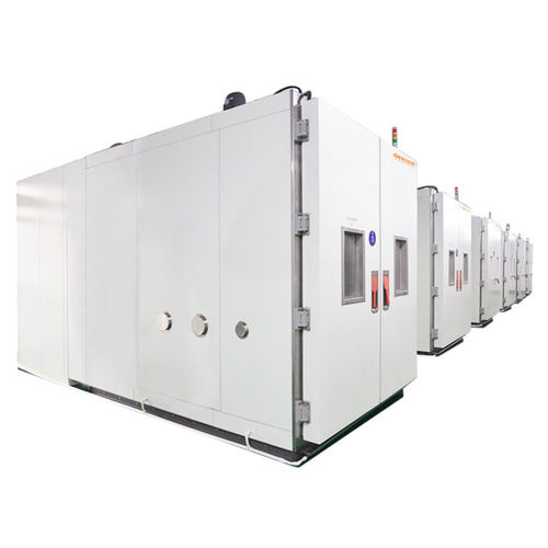 humidity and temperature test chamber / walk-in / modular / low-temperature