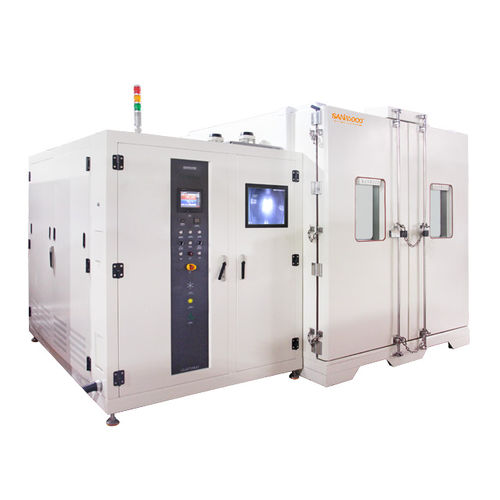 temperature test chamber / walk-in / low-temperature / for high temperatures