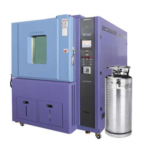 temperature test chamber / for rapid temperature cycling