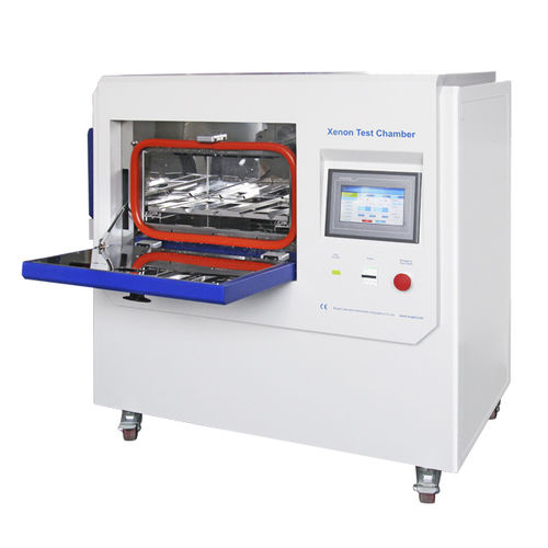 aging test chamber / stainless steel / desk / with xenon arc lamp