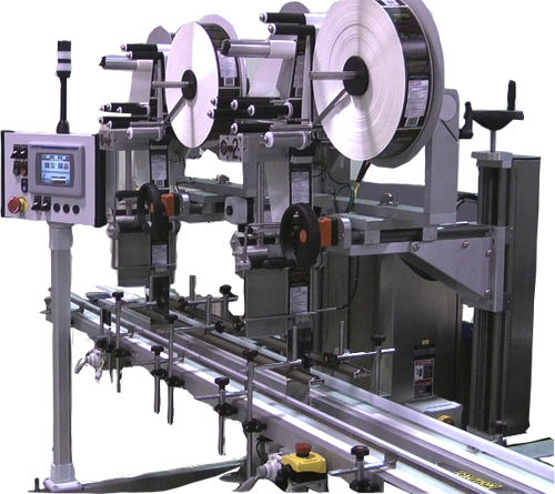 automatic labeler / for self-adhesive labels / top / for the food industry