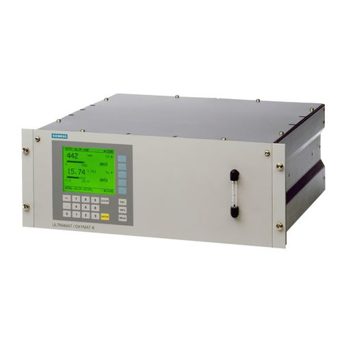 process gas analyzer / continuous / extractive / infrared