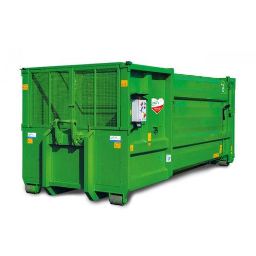 horizontal waste compactor