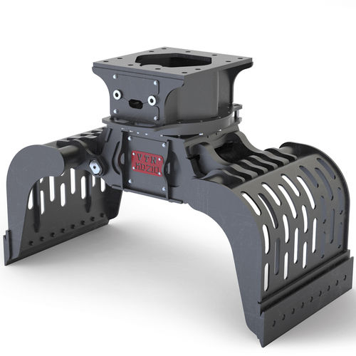 hydraulic demolition grapple / rotary / for excavators