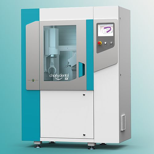 5-axis CNC milling machine / universal / dental / for titanium