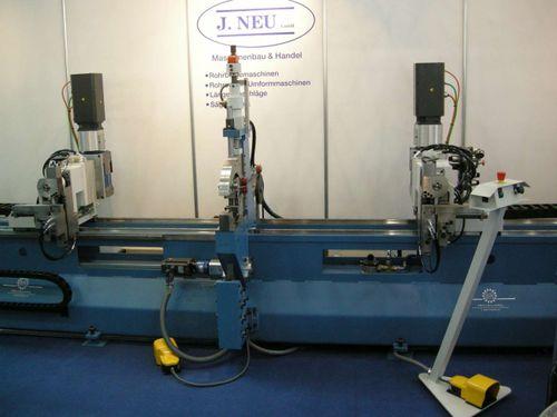 twin-head bending machine / servo-electric / for tubes / CNC