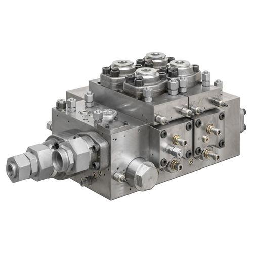 spool hydraulic directional control valve / electro-hydraulic / modular