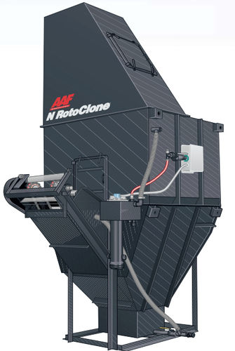 filter dust collector / pulse-jet backflow / high-efficiency