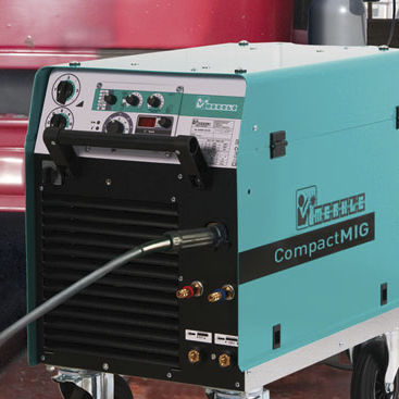 MIG-MAG welder / mobile / with 4-roll wire feeder / high-performance