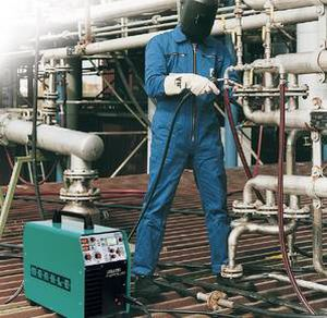 MIG-MAG welder / portable / with 4-roll wire feeder / high-performance