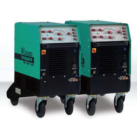 TIG welder / mobile / high-performance / pulsed DC