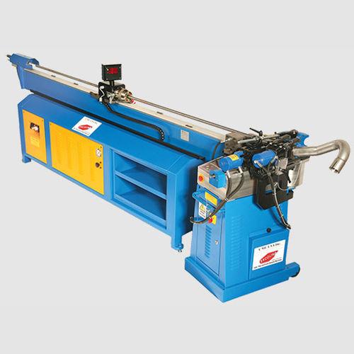electro-hydraulic bending machine / for tubes / mandrel / NC
