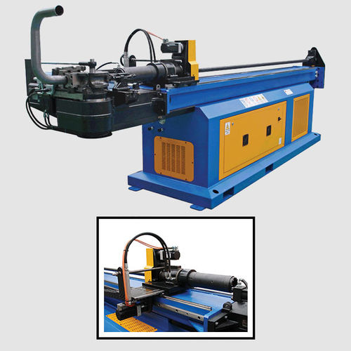 electro-hydraulic bending machine / for tubes / CNC / fully-automatic