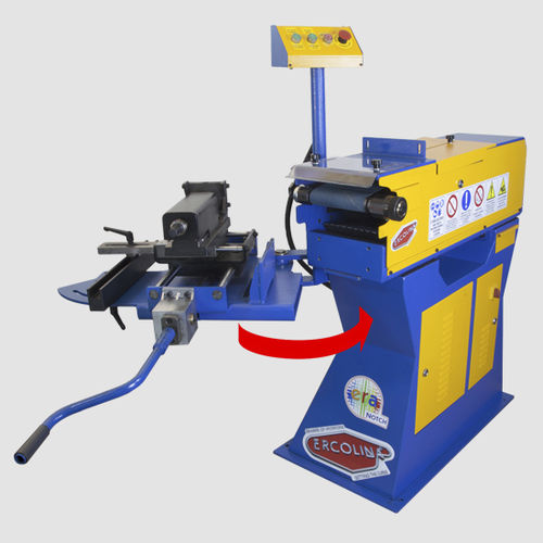 variable-angle notching machine / electric / for pipes / for tubes