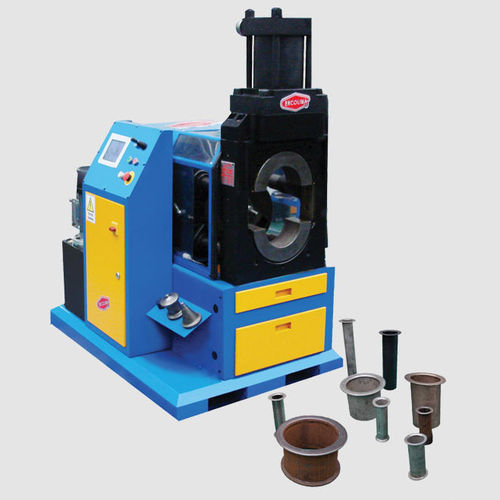 automatic flanging machine / for tubes