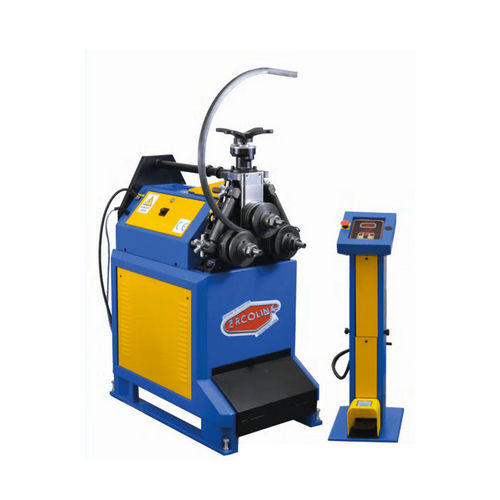 electro-hydraulic bending machine / for tubes / bar / digital