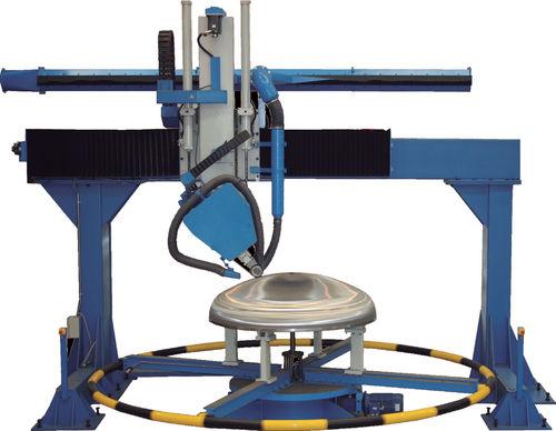 rotating table grinding polishing machine