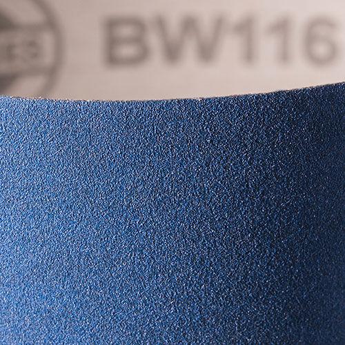 wide abrasive belt / aluminum oxide / for grinding applications