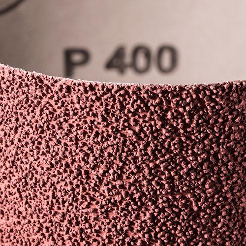 wide abrasive belt / aluminum oxide / for grinding applications / paper