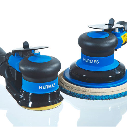 pneumatic sander / random orbital / low-vibration / high-performance