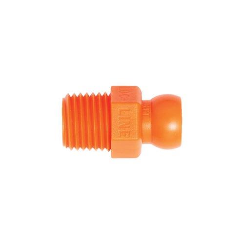 screw-in fitting / straight / hydraulic / copolymer