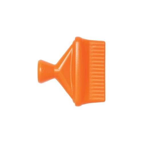 spray nozzle / for liquids / flat spray / copolymer