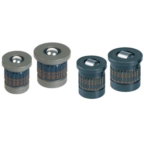 press-in insert / metal / round / load-bearing