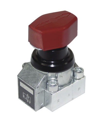 rotary hydraulic directional control valve / manual