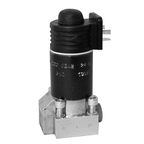 poppet hydraulic directional control valve / electrically-operated / 2/2-way / 3/2-way