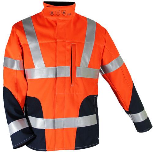 high-visibility jacket / cotton / viscose / polyester