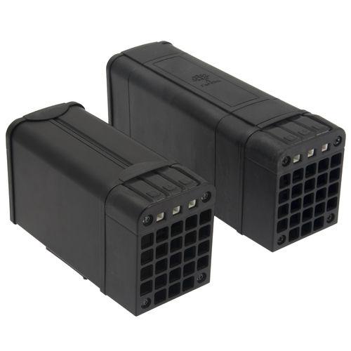 PTC heating element / aluminum / in plastic
