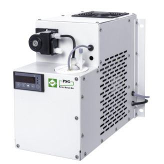 gas cooler / for samples / compact / stainless steel