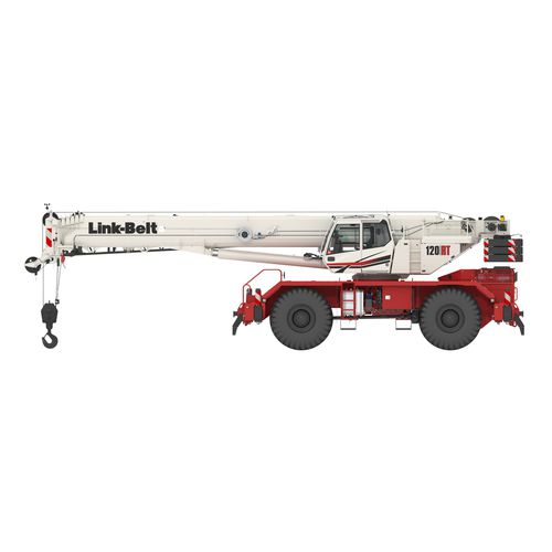 truck-mounted crane / boom / telescopic / lattice