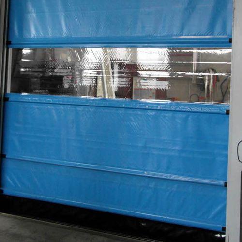 fold-up door