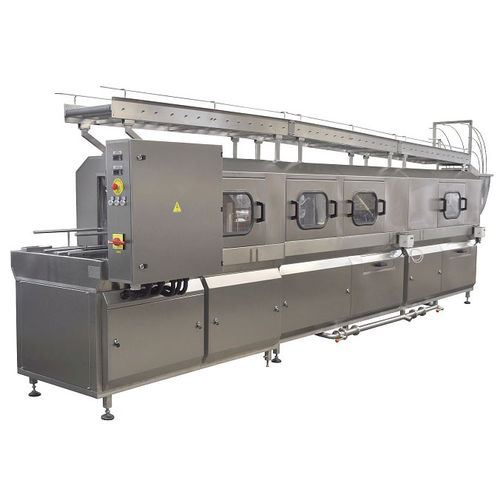 water washing machine / automated / process / stainless steel