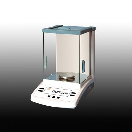 analytical balance / with LCD display / with internal calibration / with serial interface