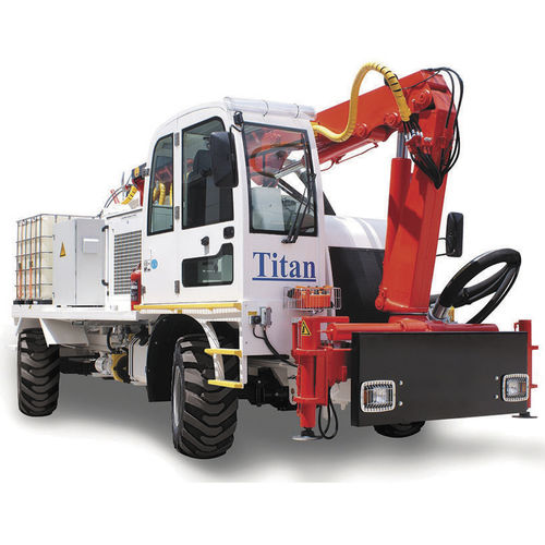 concrete spraying machine - Titan Makina Ltd. Sti.
