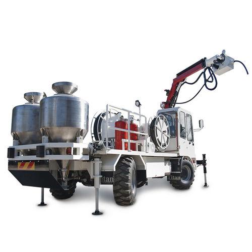 diesel utility vehicle / for underground mining