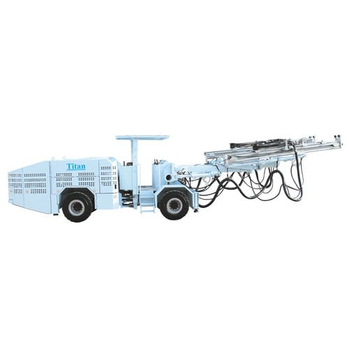 multifunction drilling rig / truck-mounted / rotary / for underground mining
