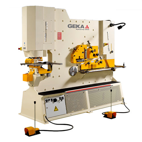 semi-automatic ironworker