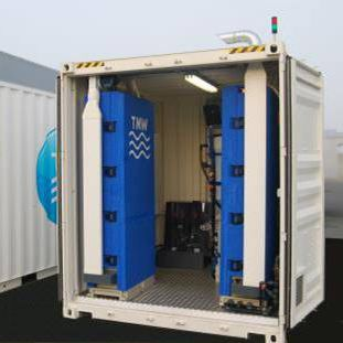 evaporative desalinator / industrial / for seawater / low energy consumption