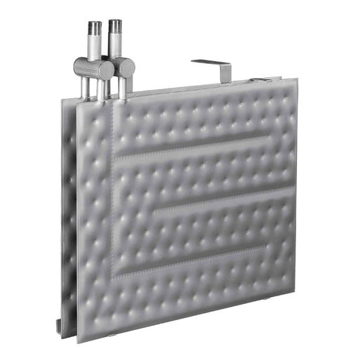 quilted plates heat exchanger
