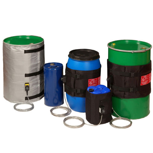 jacket drum heater / for steel kegs / for plastic drums