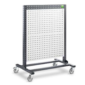 perforated panels trolley