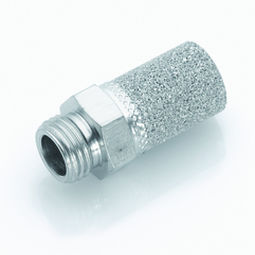 pressure-control silencer